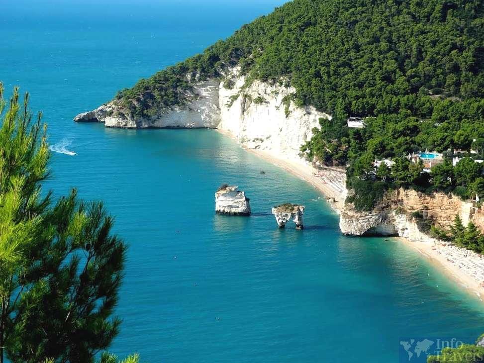Лучшие пляжи Италии-Залив Загаре