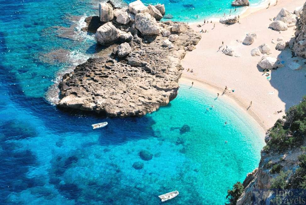 Лучшие пляжи Италии-Кала Мариолу