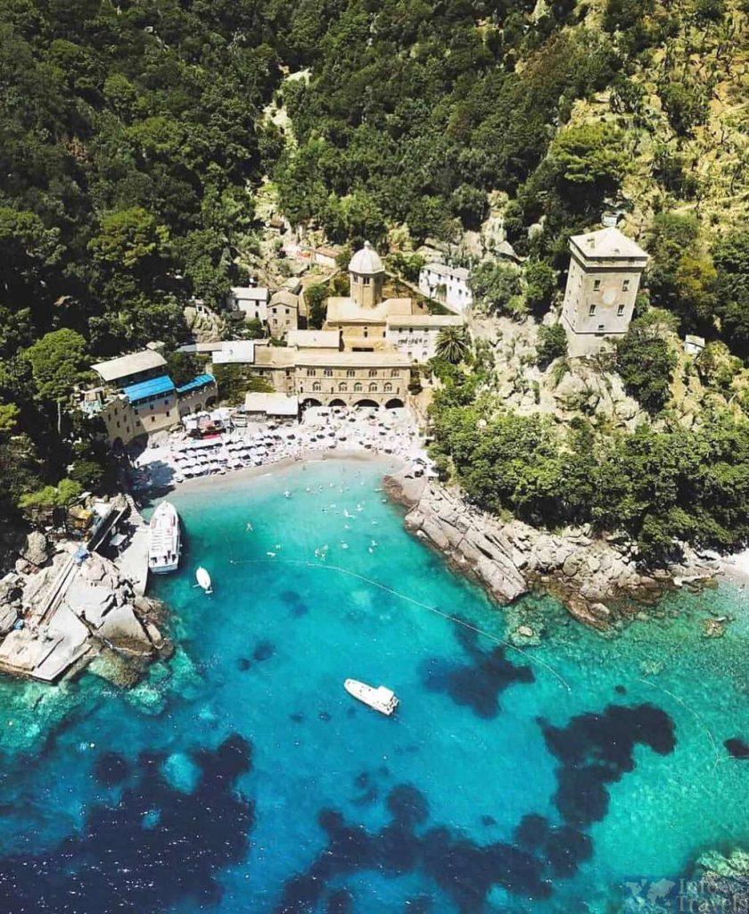 Пляж Сан Фруттуозо-один из лучших пляжей Италии