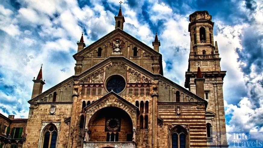 Кафедральный собор Вероны. Верона (Италия)