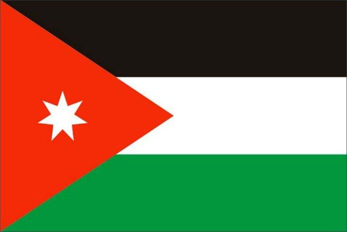 Флаг Иордании