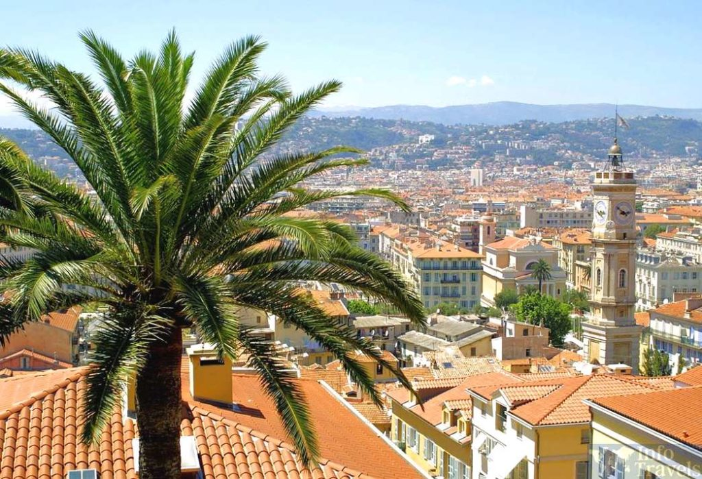 Изображение города Ницца. Франция.