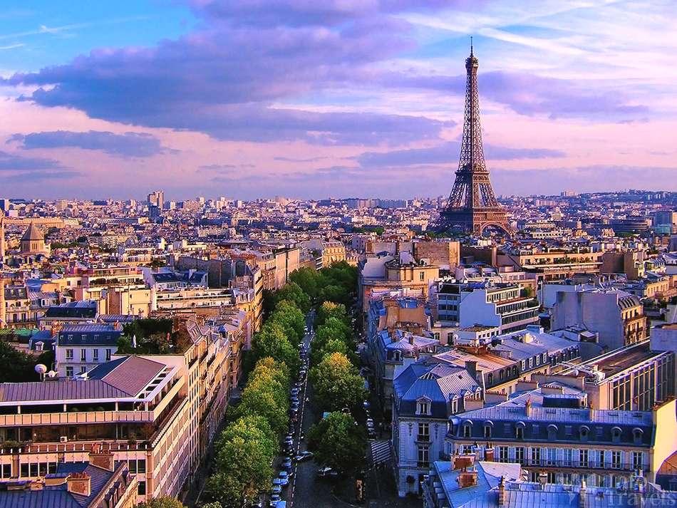 Панарама города Париж.Франция
