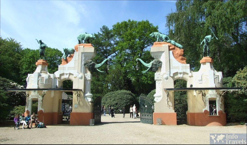 Зоопарк Хагенбек в Гамбурге