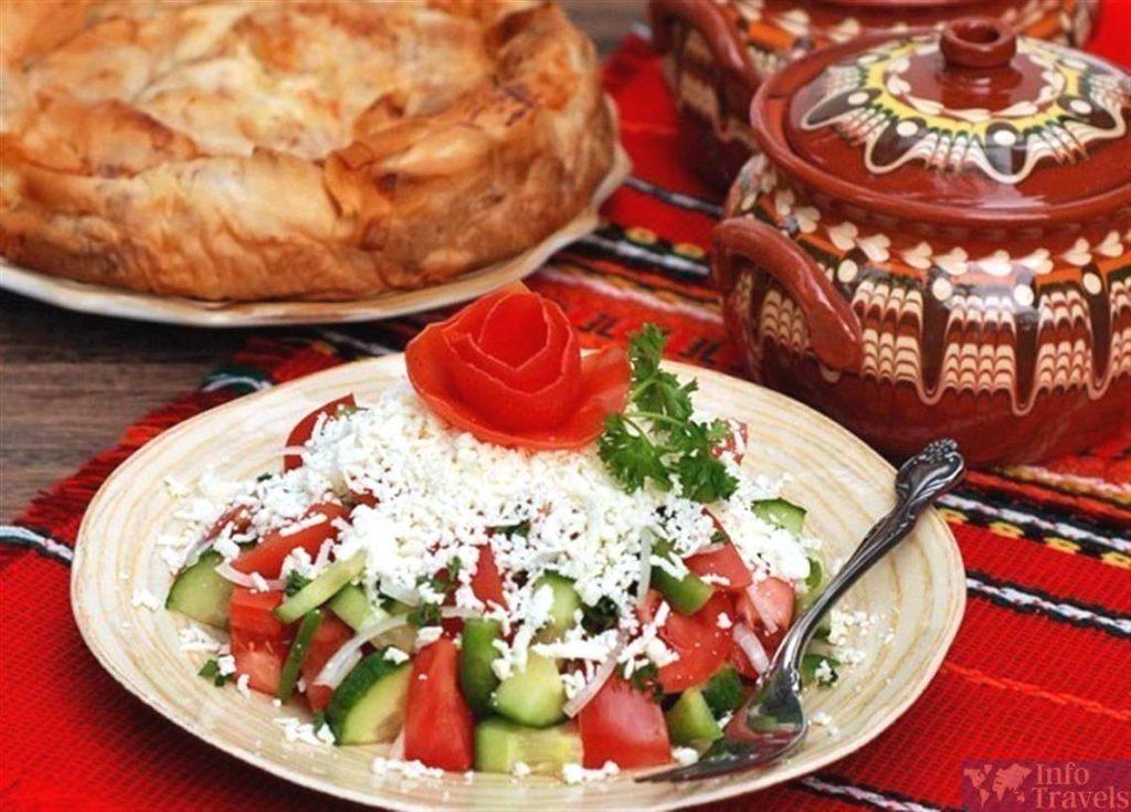 Шопский салат. Болгарская кухня