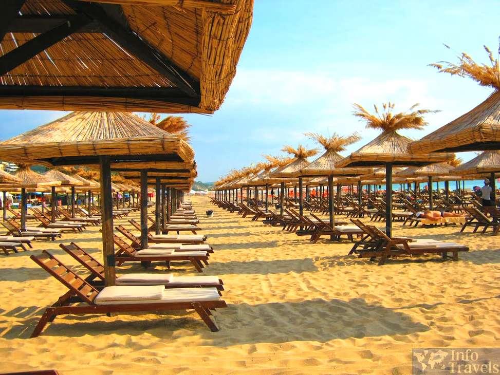 Пляжи Болгарии. Золотые пески