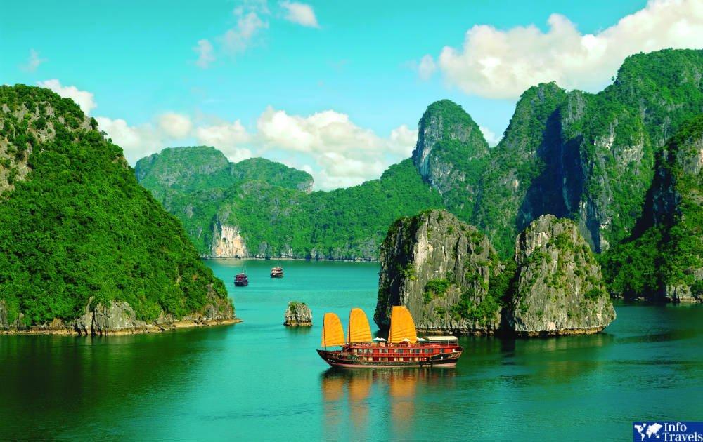 Прогулка на круизном лайнере Вьетнам