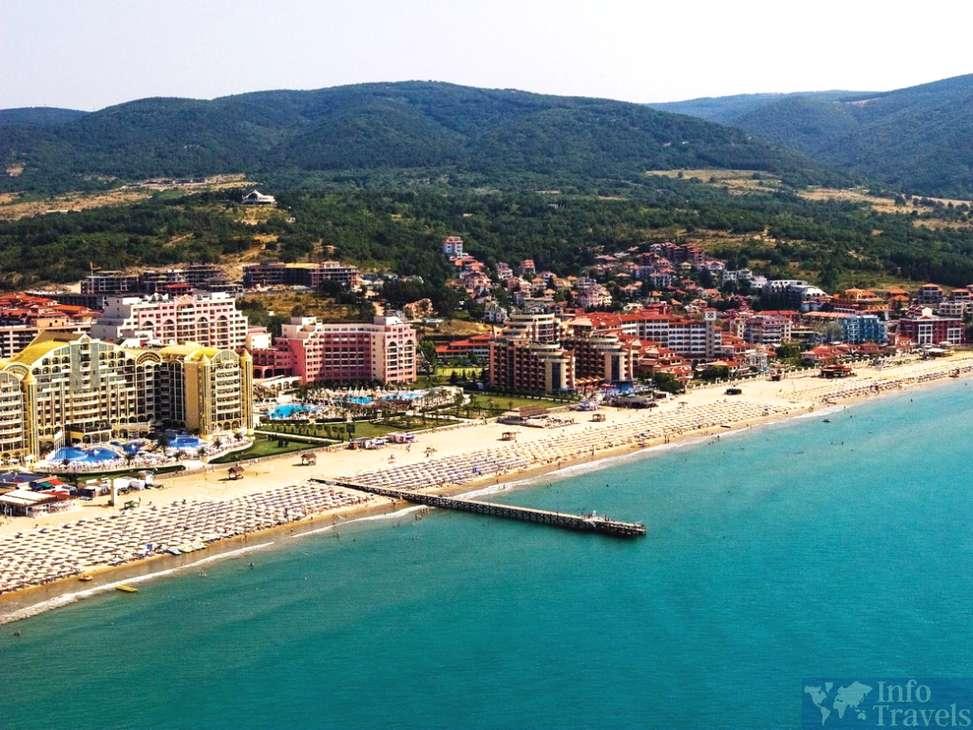 Курорты Болгарии. Солнечный берег