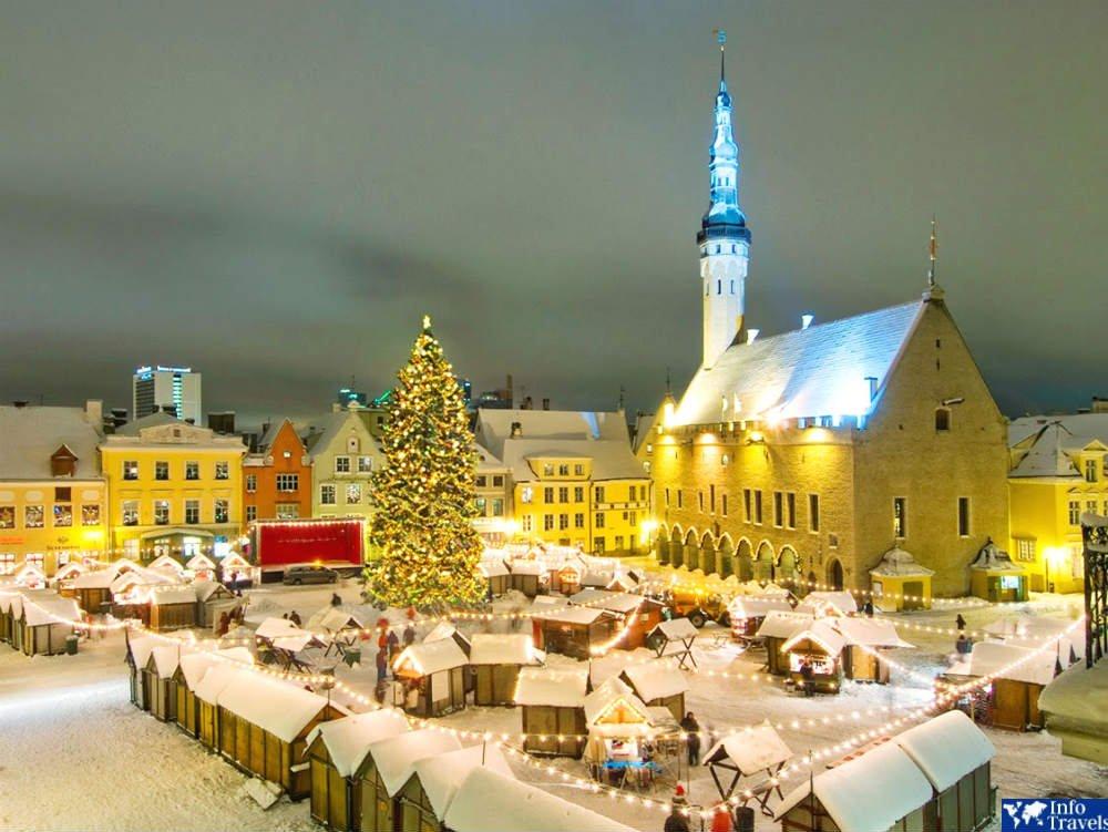 Таллин Эстония зимой