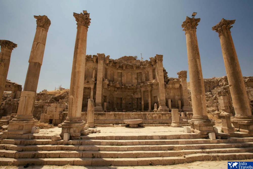 Джераш - древнеримский город