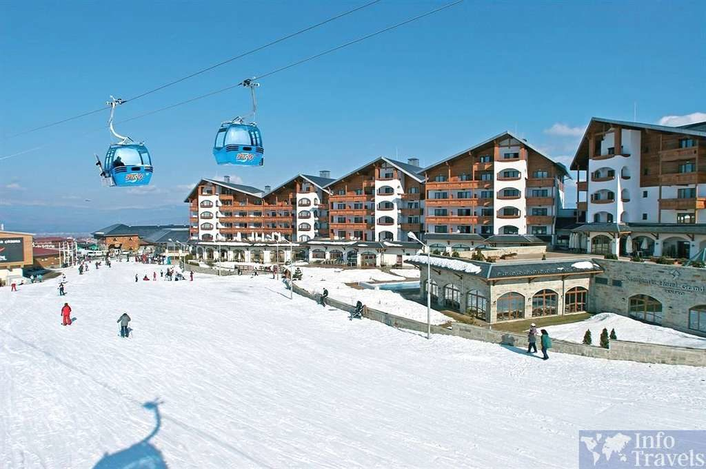 Банско- горнолыжный курорт Болгарии