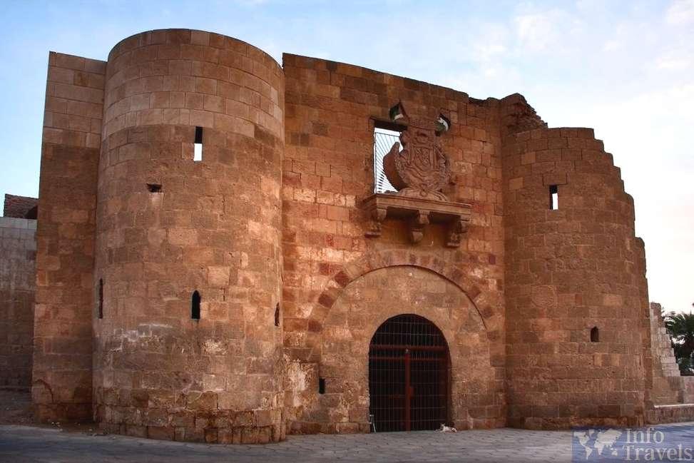 Что посмотреть в Акабе. Мамлюкский Форт