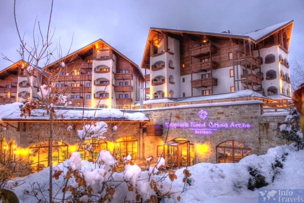 Горнолыжные курорты Болгарии. Отели в Банско