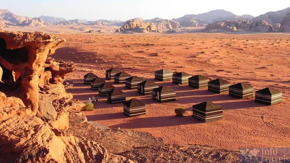 Что посмотреть в Акабе.Палатки бедуинов в Вади Рам