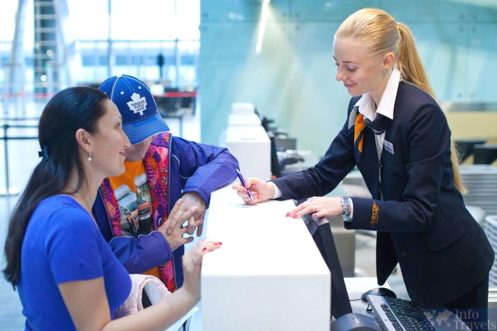 Регистрация на рейс с электронным билетом