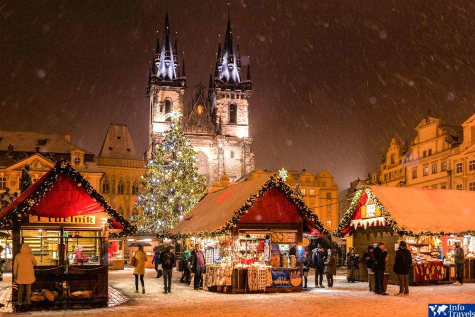 Рождество в Праге 2020