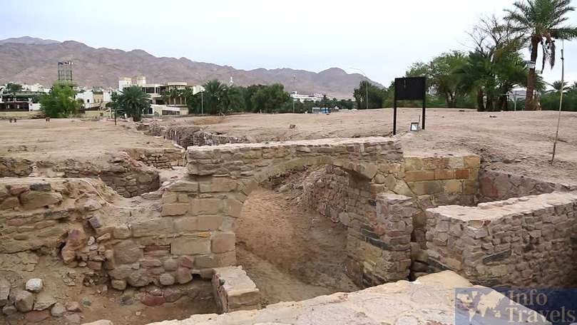 Руины города Айлы Акаба