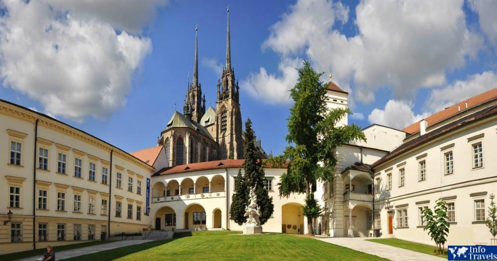 Город Брно в Чехии