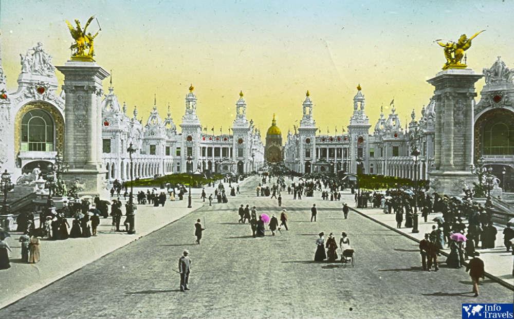 Мост Александра III - 1900 г.