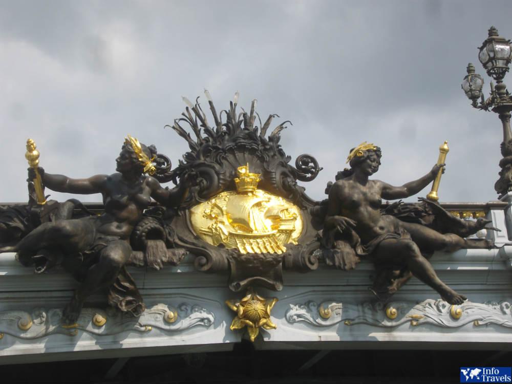 Нимфы на мосту Александра 3