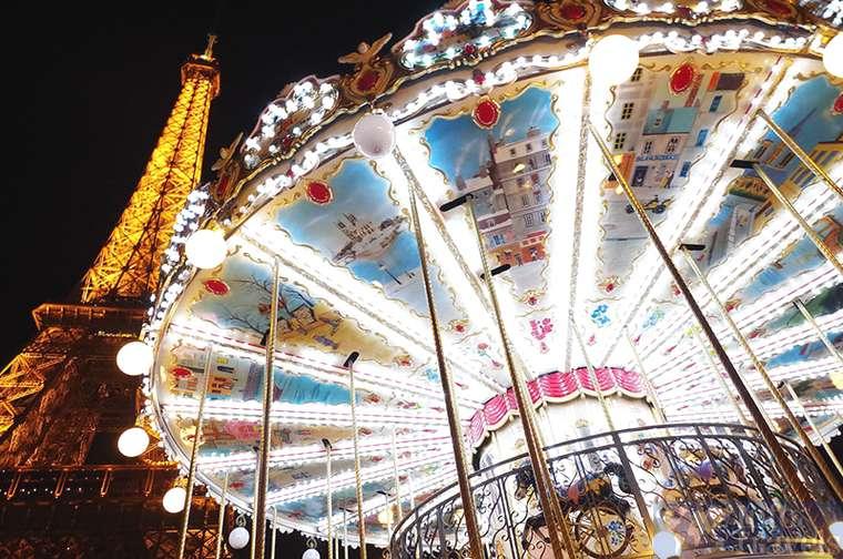 Романтический новый год в Париже