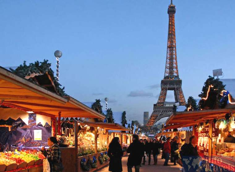 Новогодние ярмарки в Париже