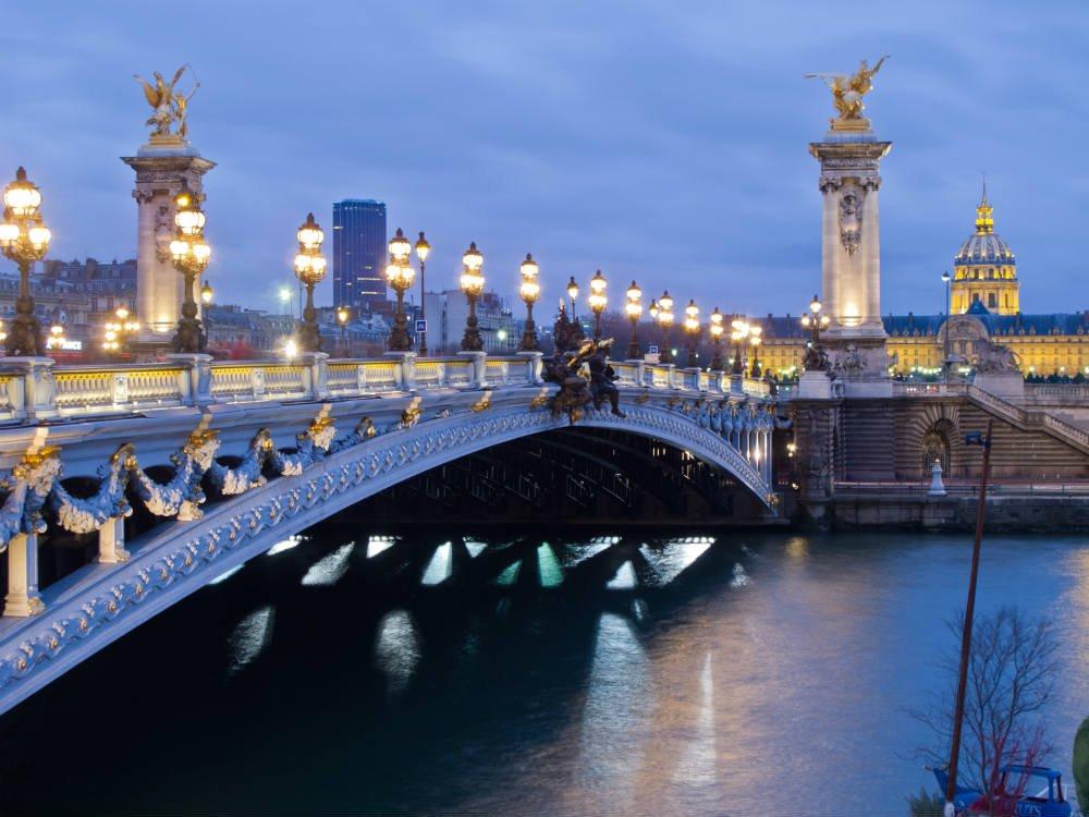 мост александра 3 в париже история