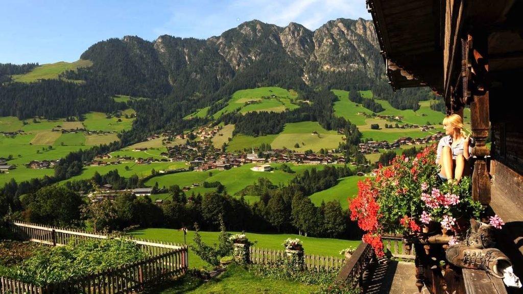 Природа Австрии идеално подойдет для отдыха с детьми