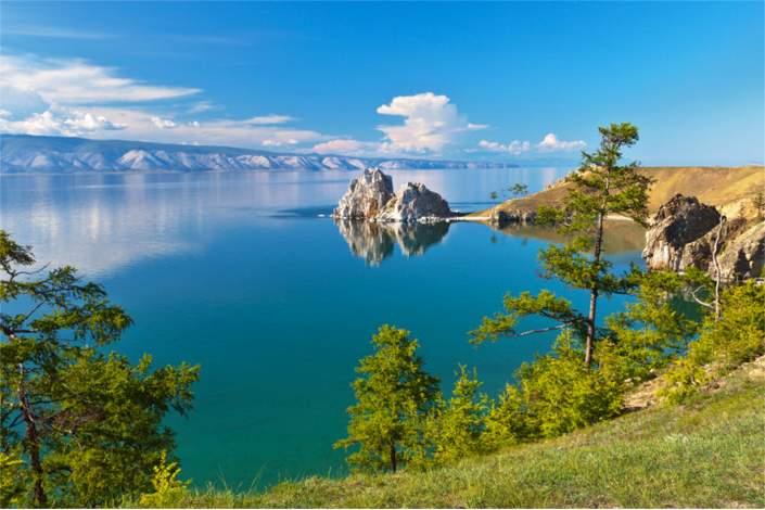 топ интересных мест в России- озеро Байкал