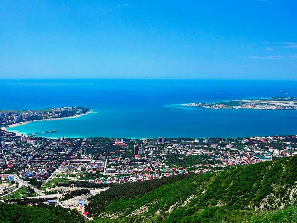 Краснодарский край вид на море
