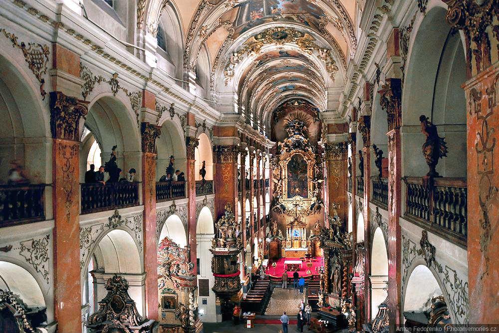 Собор Святого Якова интерьер