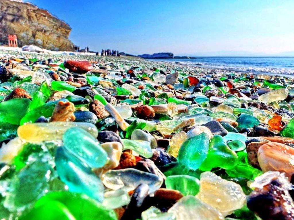 Уссурийский Залив - Бухта стеклянная пляж