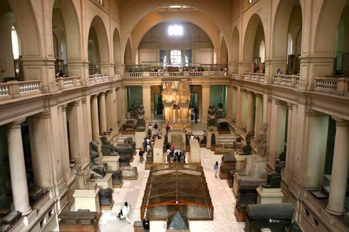 Достопримечательности Турина Египетский музей