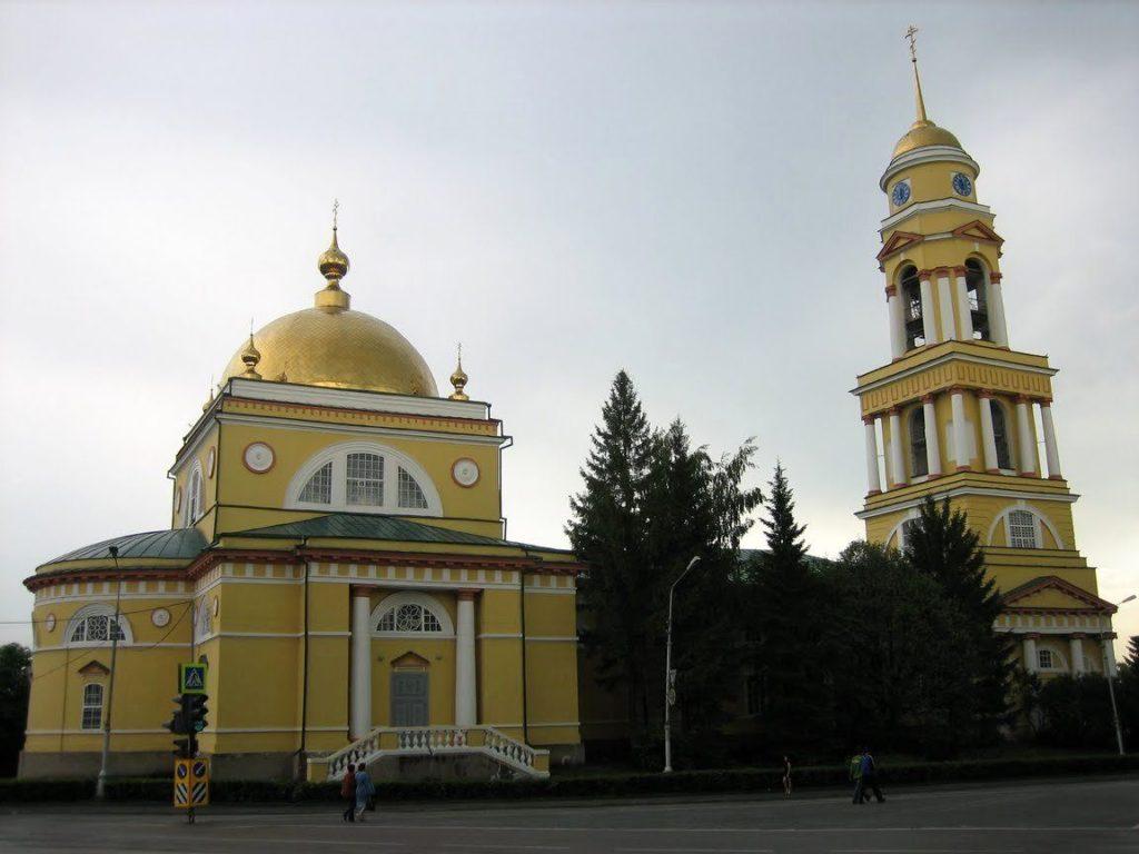 Храм на Соборной площади