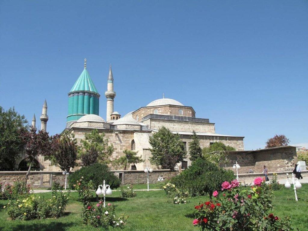 Достопримечательности Турции Музей Мевляны в Конье