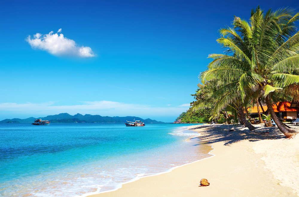 Море и пляжи Тайланда