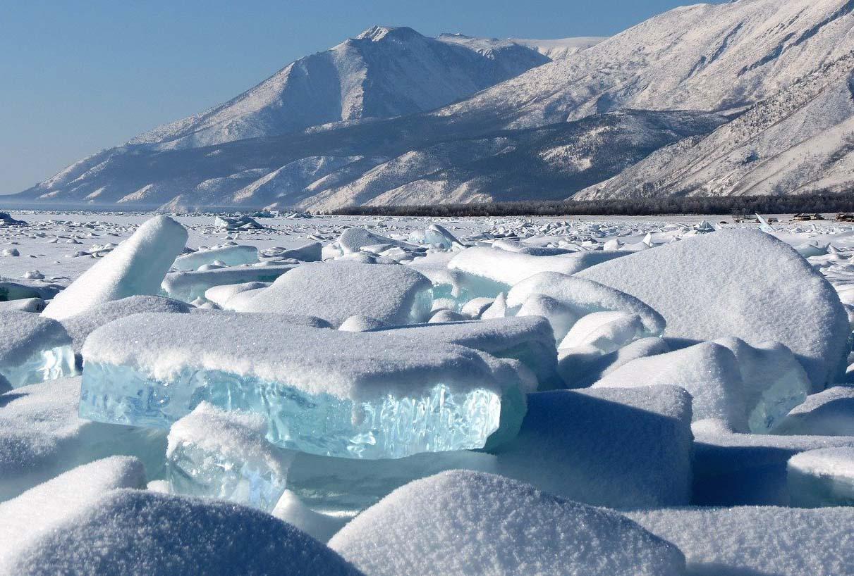 Льды байкала